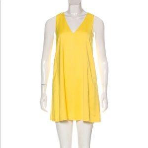 Alice + Olivia Yellow Mini Dress